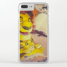 A bridge to Simba Clear iPhone Case