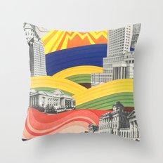 The Big City Throw Pillow