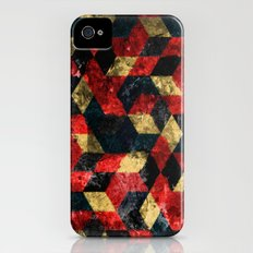 Abstract Berries Pattern Slim Case iPhone (4, 4s)