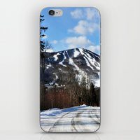 vermont iPhone & iPod Skins featuring Vermont Mountain by Tamsin Lucie