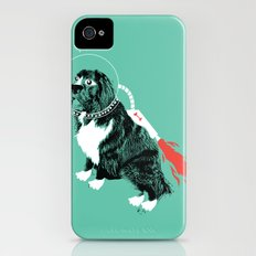 A Flying Dog In Outer Space Slim Case iPhone (4, 4s)