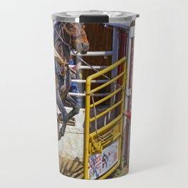 The Release - Rodeo Bronco Riding Travel Mug