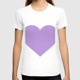 Heart (Lavender & White) T-shirt