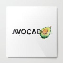 Favourite Things - Avocado Metal Print