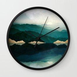 Waters Edge Reflection Wall Clock