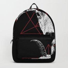 Satanic Goat   Occult Art Backpack