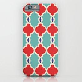 Hollywood Regency Trellis Pattern 632 iPhone Case