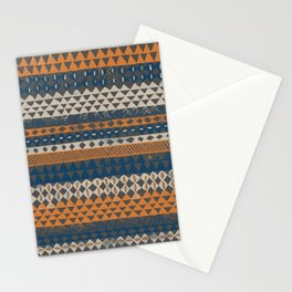 Hand Painted Ethnic Pattern Stationery Cards