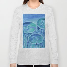 Striated Jelly Moons Long Sleeve T-shirt
