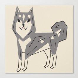 Dog_24_Husky Canvas Print