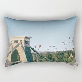 Visit Bristol Rectangular Pillow