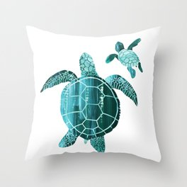 Shielded Love Throw Pillow