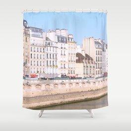 Bright Paris Shower Curtain