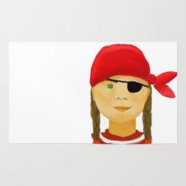 Little Pirate Girl Rug