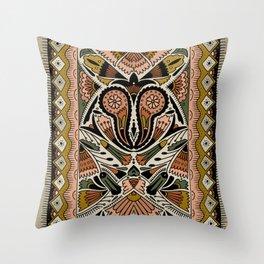 Botanical Print III Throw Pillow