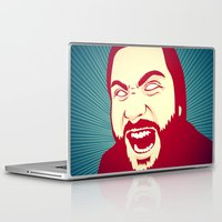 scream Laptop & iPad Skins featuring Scream by FalcaoLucas