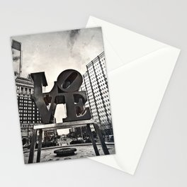 Love Park Dark Stationery Cards