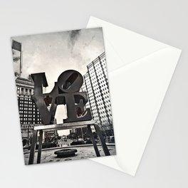 Love Park Dark Stationery Cards