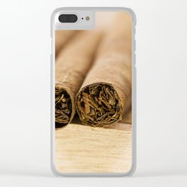 cigars Clear iPhone Case