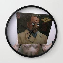 Duke Ellington's Greatest Hits Wall Clock