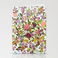 hexagon Stationery Cards featuring Hexagon by Ouizi - Los Angeles