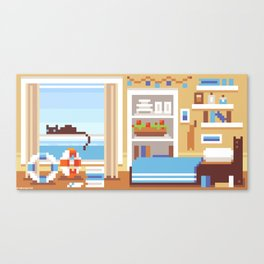 Scenery: Ship's Room Canvas Print