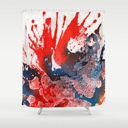 Polychromoptic #15A Shower Curtain