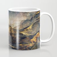 once upon a  time Mugs featuring Once Upon a Time by Klara Acel