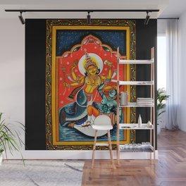 Hindu Durga 7 Wall Mural