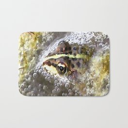 I'm Forever Blowing Bubbles Cute Frog Bath Mat