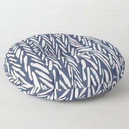 Winter snowstorm Floor Pillow