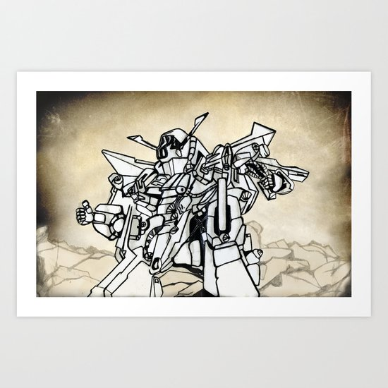 Transformer Art Print