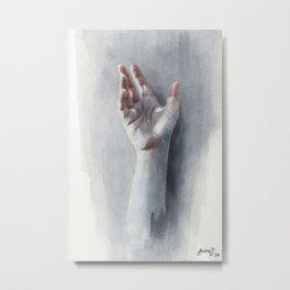 Watercolor study #09 Metal Print