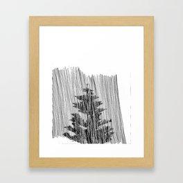 Cypress Framed Art Print