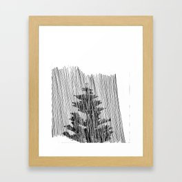 Cypress Framed Art Print