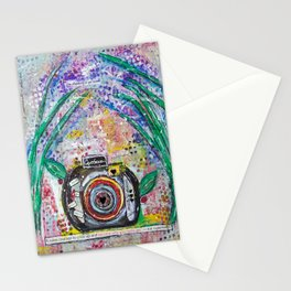 Live in the moment Stationery Cards
