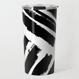 Abstract Monochrome 02 Travel Mug