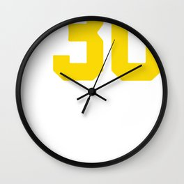 Curry Steph Curry 30 Wall Clock