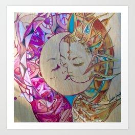 Yin& Yang balance Metamorphosis Gallery Collection  Art Print