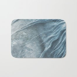 Wild horse photography, fine art print of the mane, for animal lovers, home decor Bath Mat