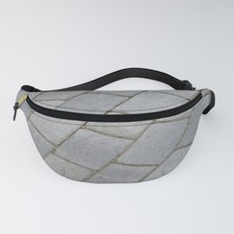 TEXTURES -- Pavingstone Pattern Fanny Pack