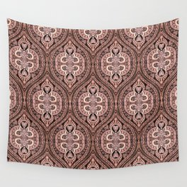 Copper Tribal Lace Ogee Wall Tapestry