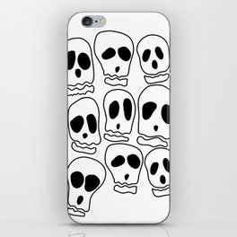 Skulls-1 iPhone Skin