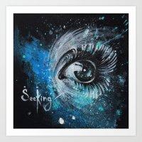 """SeeKing"" Art Print"