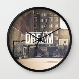DRE∆M Wall Clock