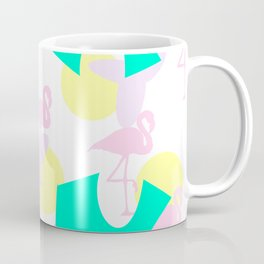 Flamingo vibrant motif Coffee Mug