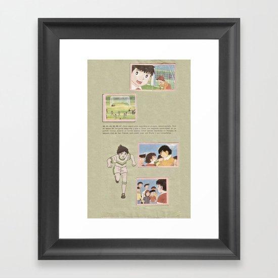 album Framed Art Print