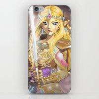 zelda iPhone & iPod Skins featuring Zelda by Mika