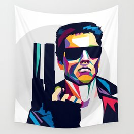 Terminator Wall Tapestry