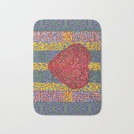 High Energy Heart 5 Bath Mat